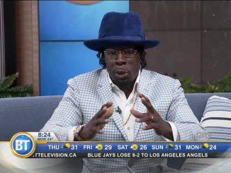 Shabba Ranks Interview in Toronto on Breakfast Television