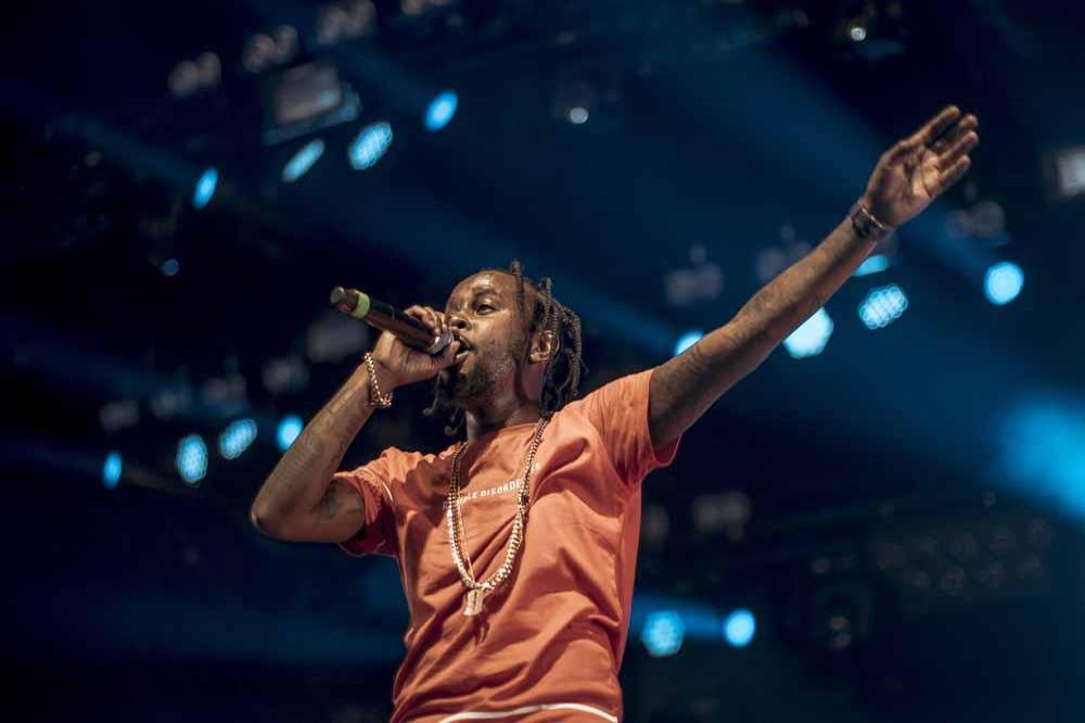 Image result for popcaan in concert
