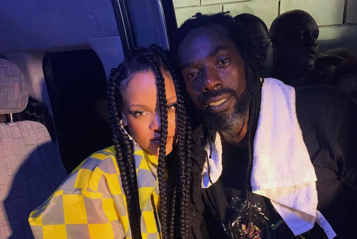 Buju Banton and Rihanna