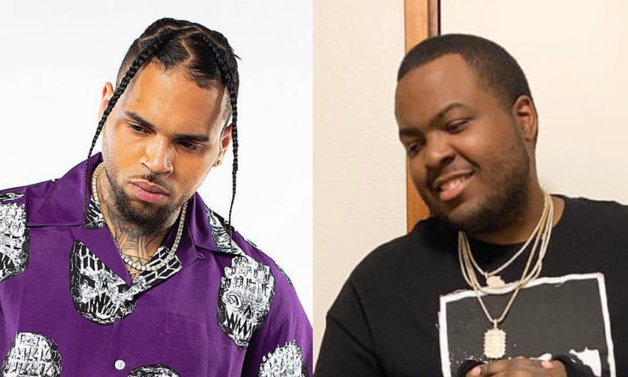 Chris Brown and Sean Kingston