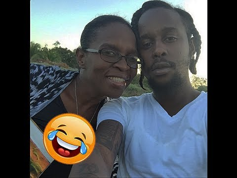Image result for popcaan and his mother