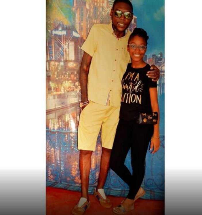 vybz kartel and his dauhtghter most recent p[ic 2018 prison visit