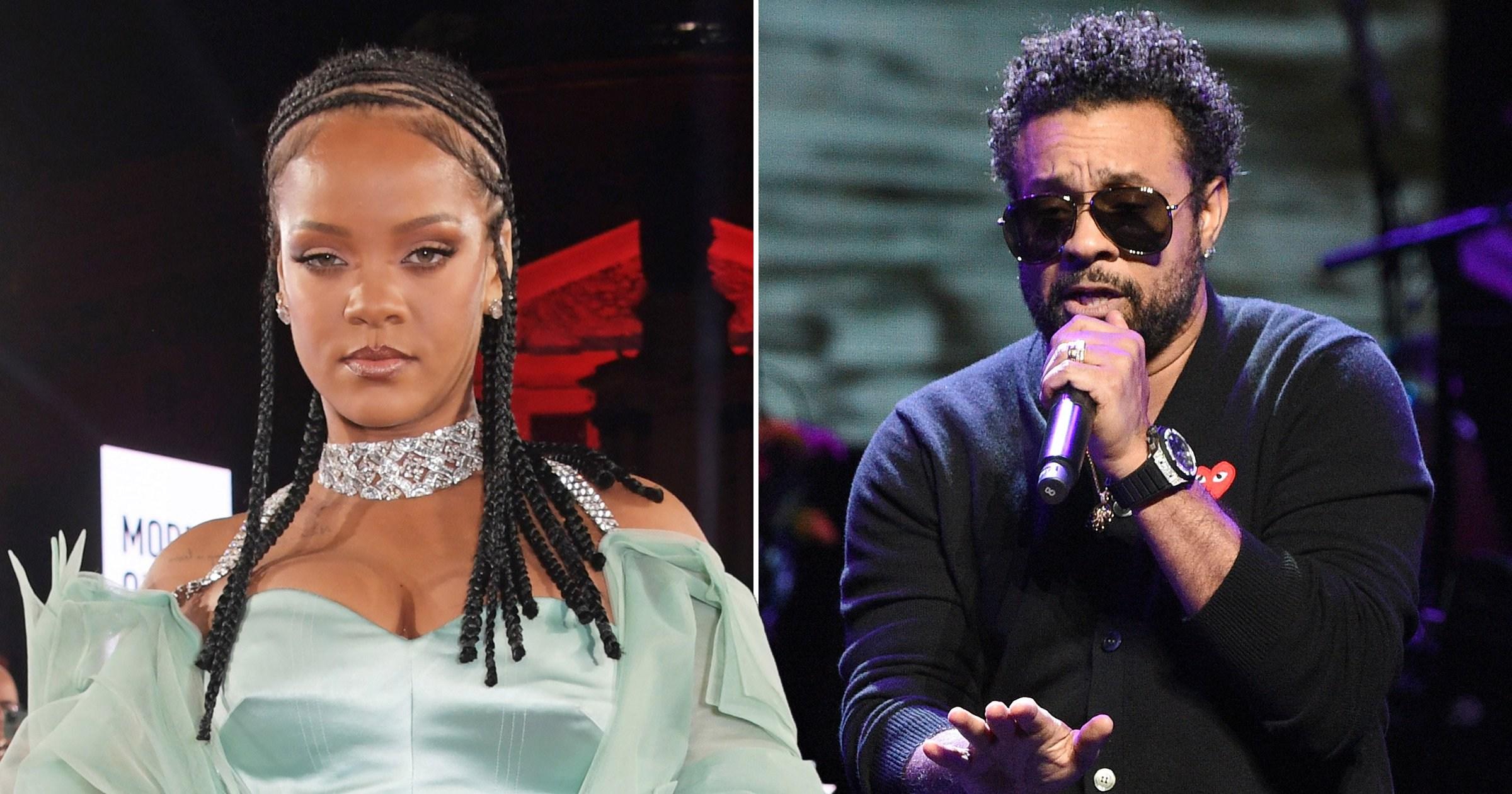 Rihanna and Shaggy