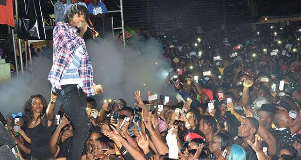 Mixed feelings over Alkaline's performance - Guyana Chronicle