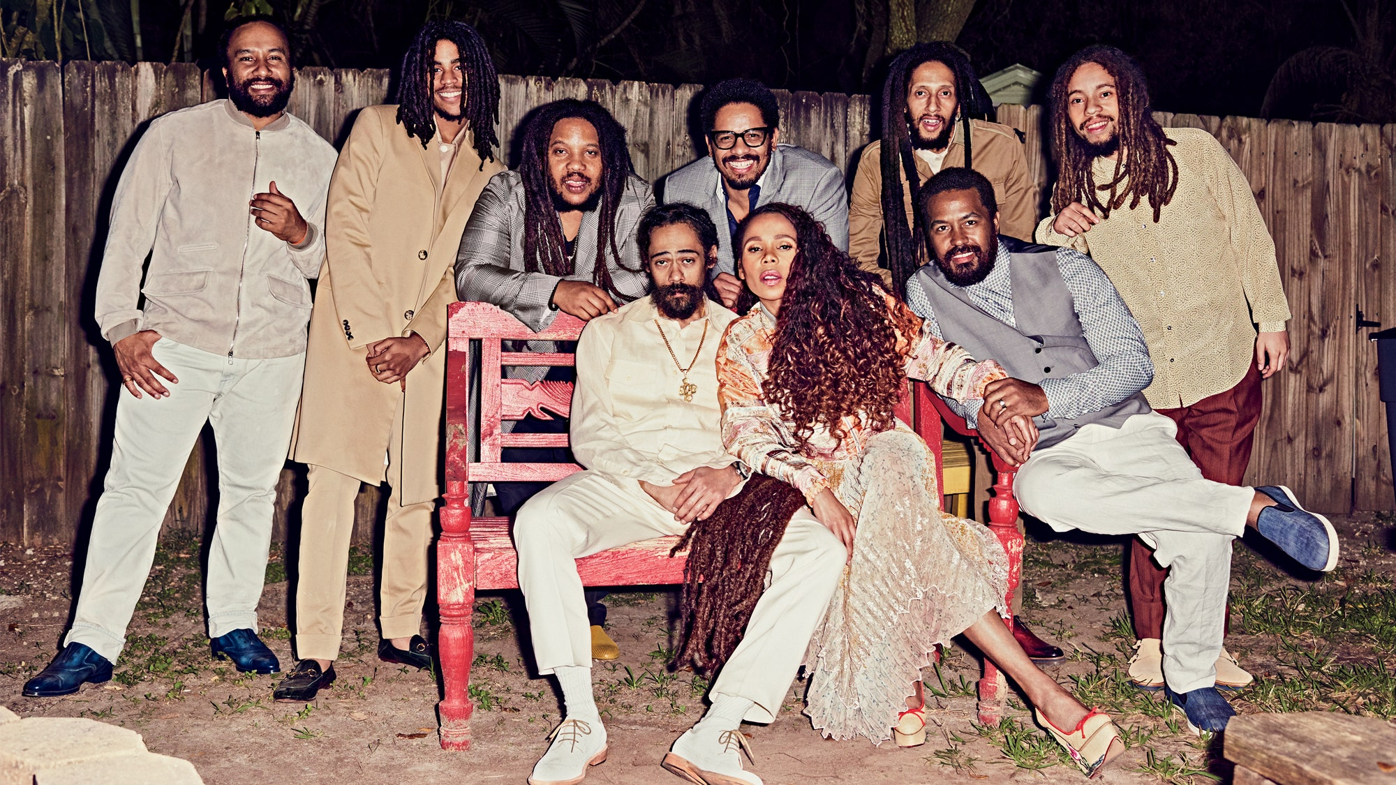 Bob Marley's Family Reunites for Its First Photo Shoot in More ...