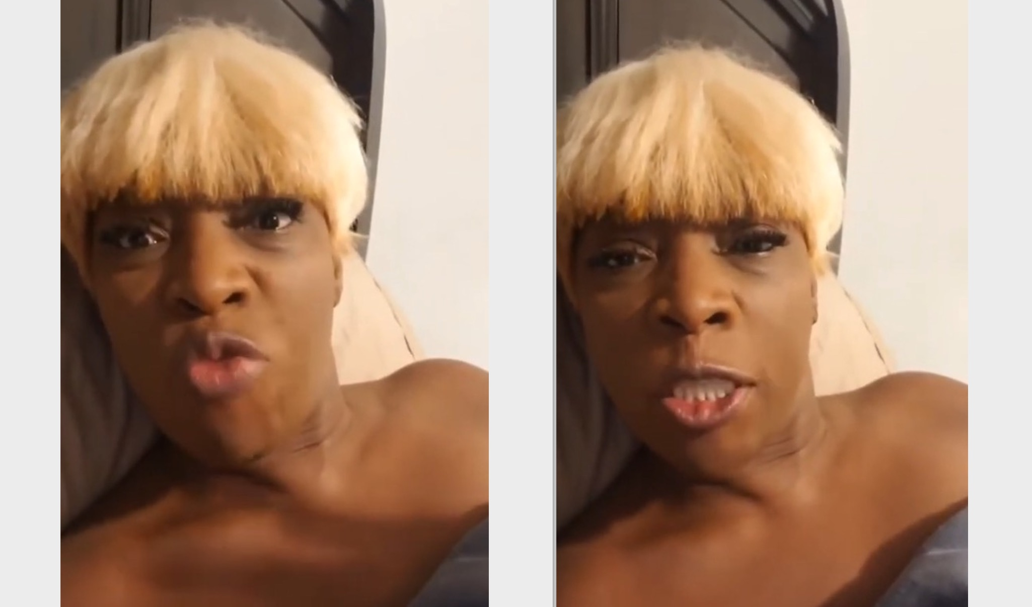 """Macka Diamond lashes out at Pretti Don Online about """"Sextape"""" – Video 