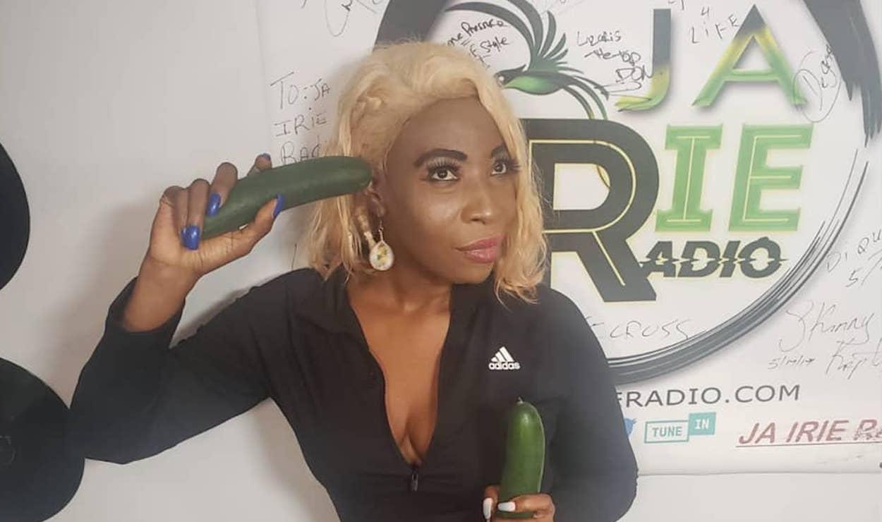 Macka Diamond's Cucumber Antics Earns Her Some Backlash From Dancehall Fans  - Urban Islandz