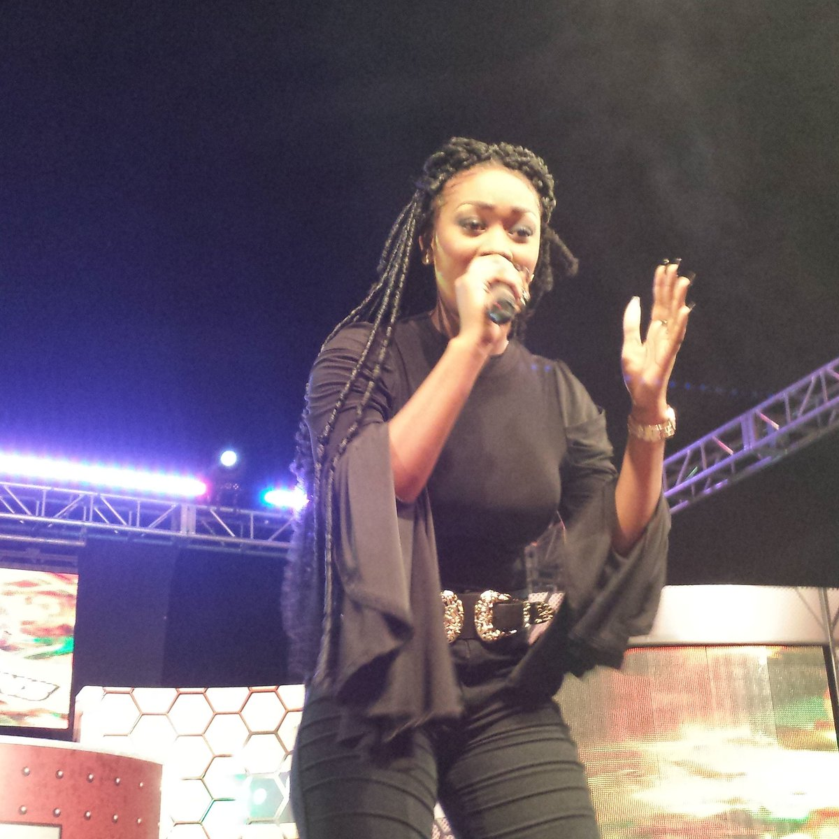 "TVJ on Twitter: ""Shaneil Muir will be leaving us tonight but she left us  with a powerful message #TVJMKQ #MKQ9… """