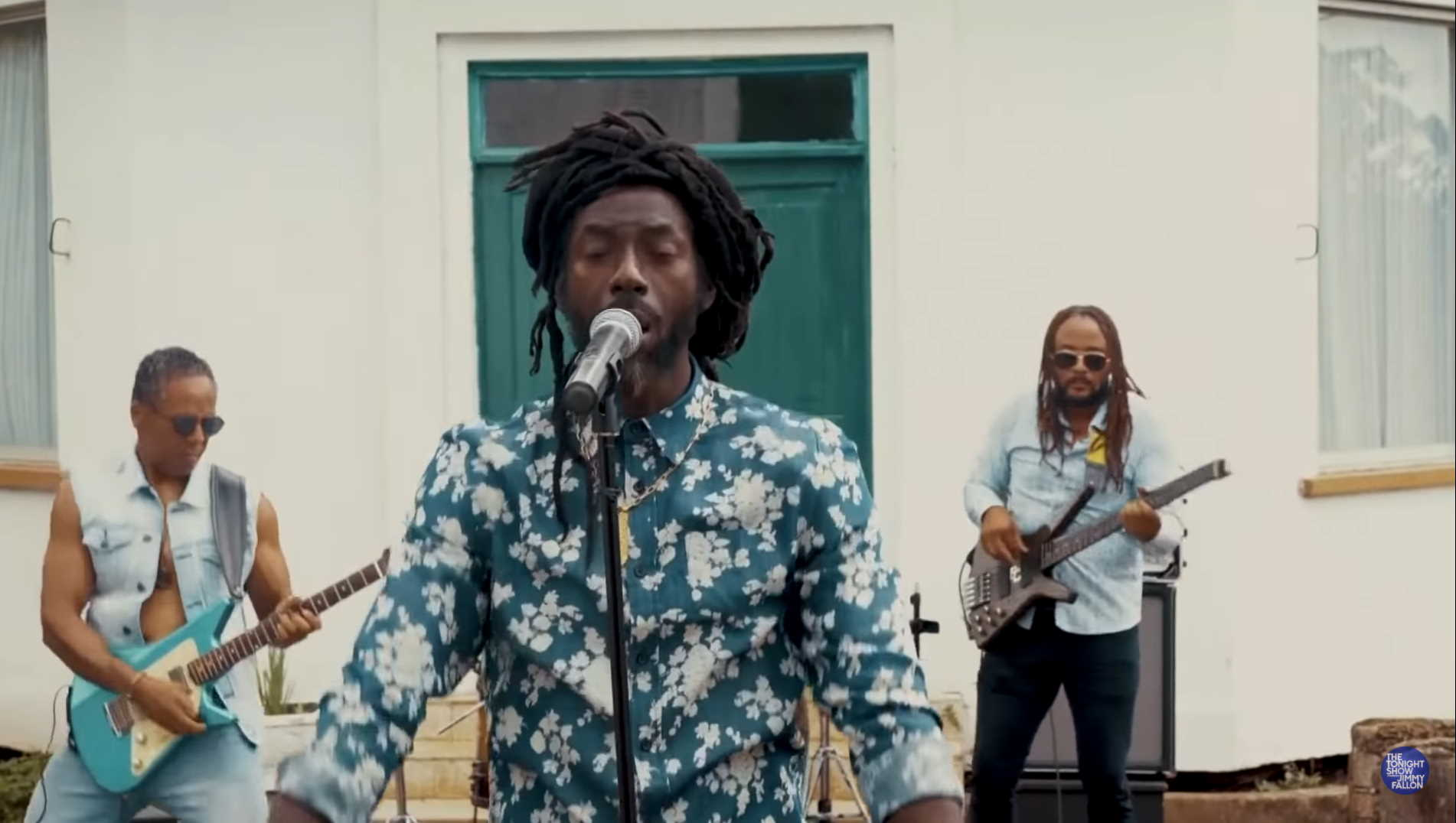 Buju Banton Performs 'The World Is Changing' For 'Fallon'