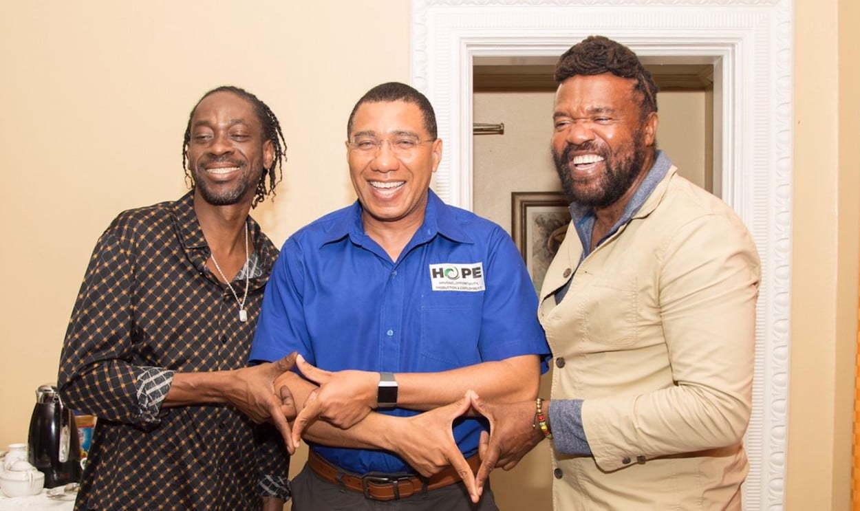 Jamaica PM Andrew Holness Announces 24 Hour Dancehall Oases - Urban Islandz