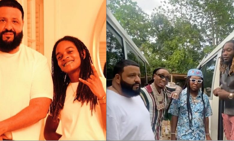 DJ Khaled Links up With Koffee in Jamaica, Shoots Video for 'Khaled Khaled'  with Migos and H.E.R | yardhype.com