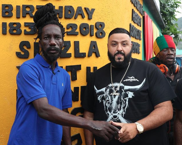 DJ Khaled Goes Viral Again In Jamaica - The Tropixs