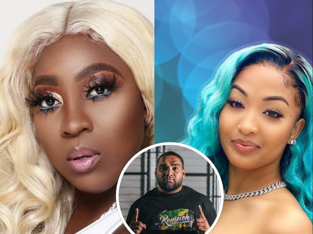 Is Romeich pushing beef between Spice and Shenseea? | Buzz