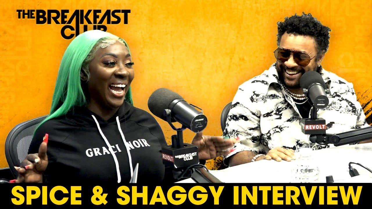 Spice And Shaggy Talk Dancehall Origins, Evolution & Impact On Mainstream  Music - YouTube