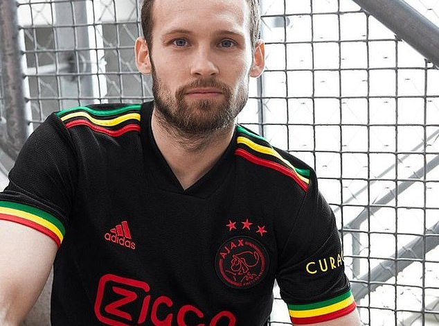 Ajax are forced to ditch Three Little Birds imagery on new Bob Marley-inspired  away kit - Saty Obchod News
