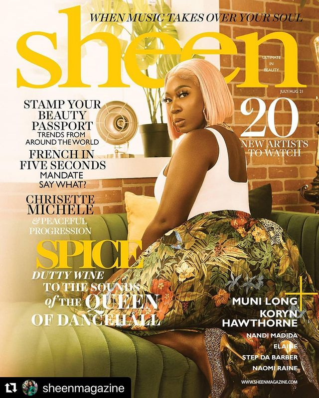 Spice to cover July issue of Sheen Magazine | Buzz
