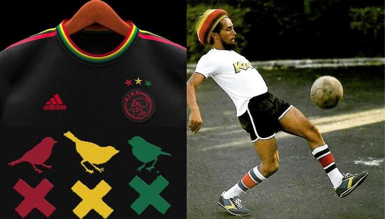 How To Buy Ajax Bob Marley Inspired Kit? Ajax New Kit Grabs Attention From  Fans All Over